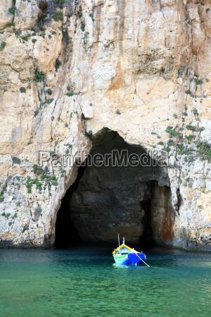 blu grotta cancello portale acqua mediterraneo