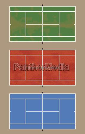 sport dello sport campo concorrenza tennis