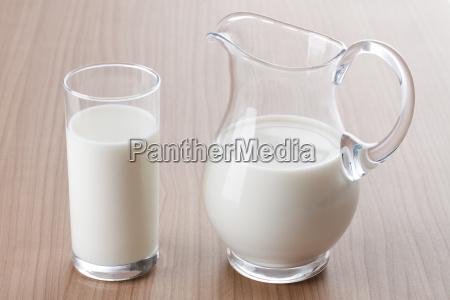 latte in brocca