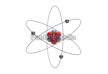 rilasciato scienza appartato atomo elemento isolato