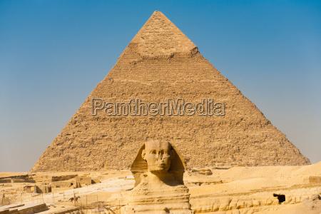 sfinge giza piramide khafre centro