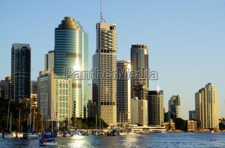 brisbane city in australia
