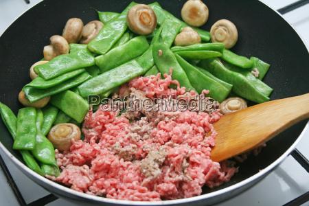 fagioli cucinare cucina verdura ingredienti carne