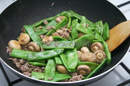 fagioli cucinare cucina preparare verdura ingredienti