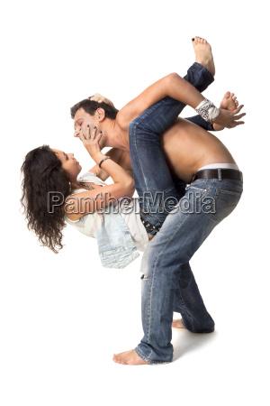 donna pantaloni affezione simpatia tenere bramare