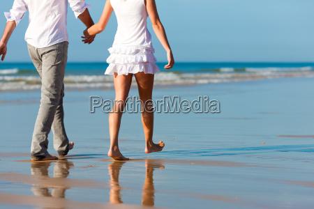 couple walking holiday