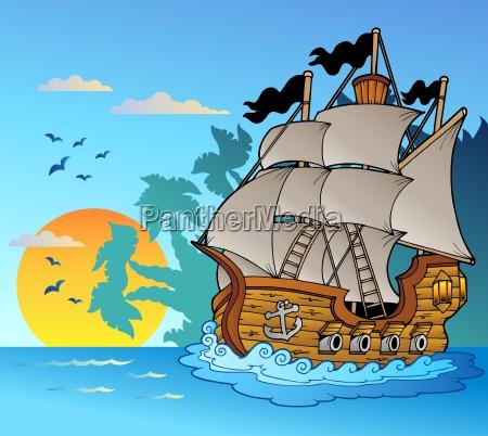 vela recipiente vaso barca nave caricare