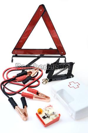 kit di emergenza per auto