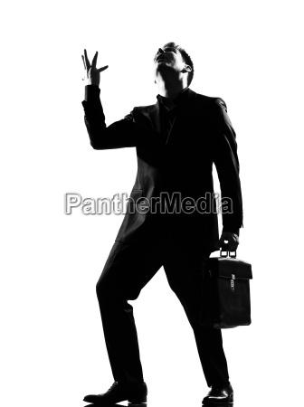 adulto rabbia silhouette furioso arrabbiato rabbioso