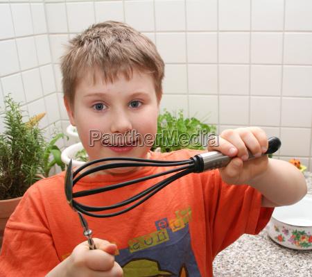 cucina cucinare ragazzi miscelatore ragazzo martinetto