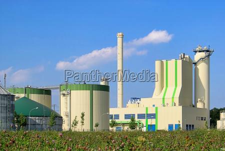 bio impianto gas biogas biomassa