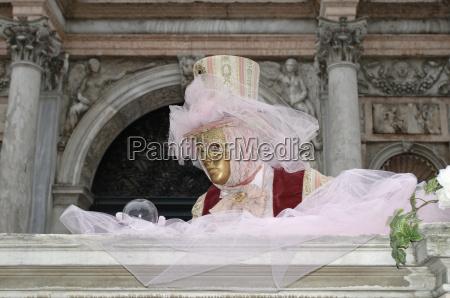 colorato venezia carnevale oro italia maschera