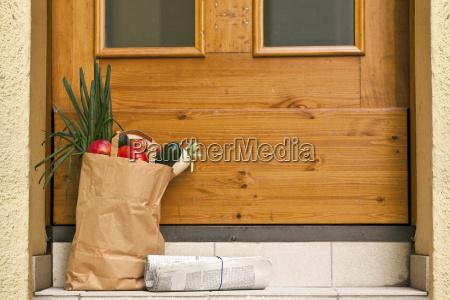 giornale tageblatt negozio comperare sacchetti di