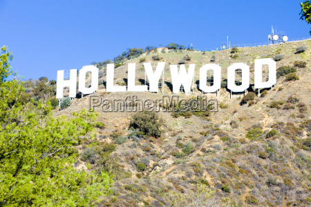insegna hollywood los angeles california stati