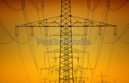 linea elettricita terrestre