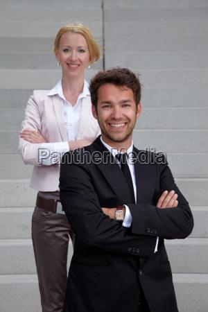 donna scala scale affare affari lavoro