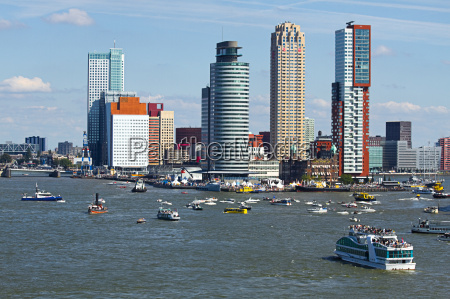rotterdam the netherlands from the riverside