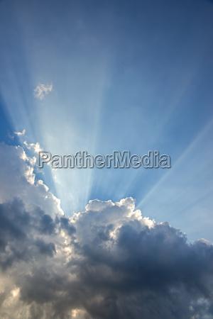 speranza nuvole risvolto positivo cielo firmamento