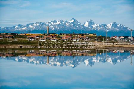 citta montagne argentina riflessi riflessioni centro