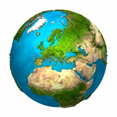 pianeta terra europa