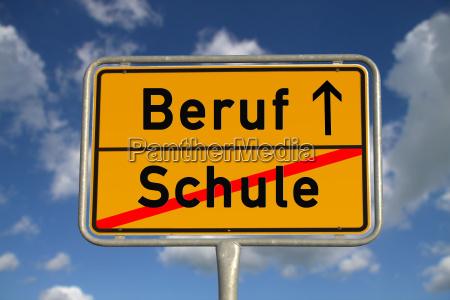 città, tedesca, segno, professione - 5166531