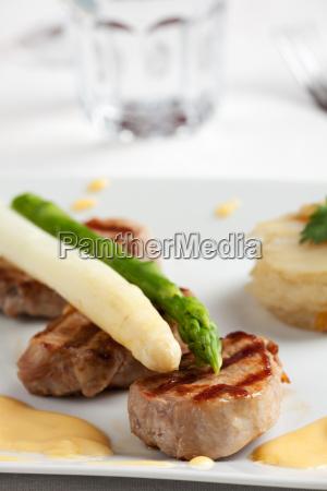 verde caucasico bianco disco asparago filetto