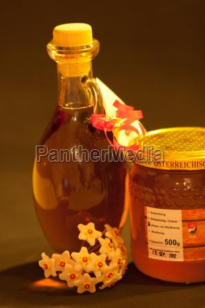 prodotto di vetro miele apicoltore