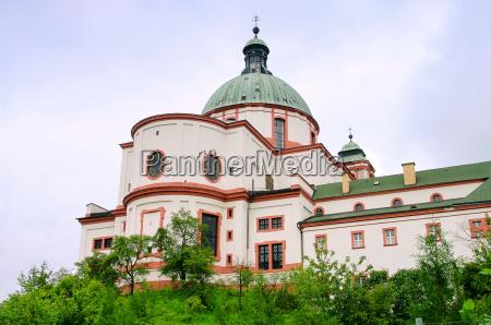 chiesa repubblica ceca basilica boemia