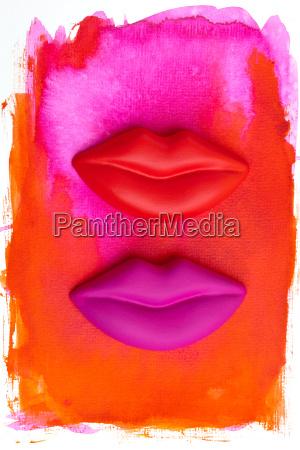 pittura labbra