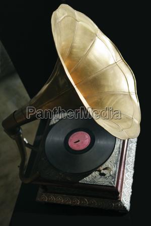 divertimento musica antico disco record retro