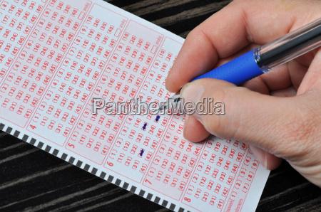 ricco gioco dazzardo lotteria cedola coupon