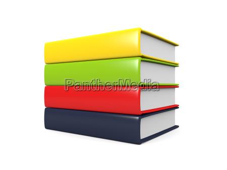 verde caucasico bianco vuoto inabitato libri