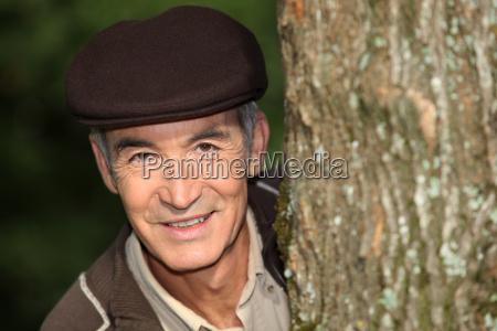 marrone autunnale ramo berretto pomeriggio cappuccio