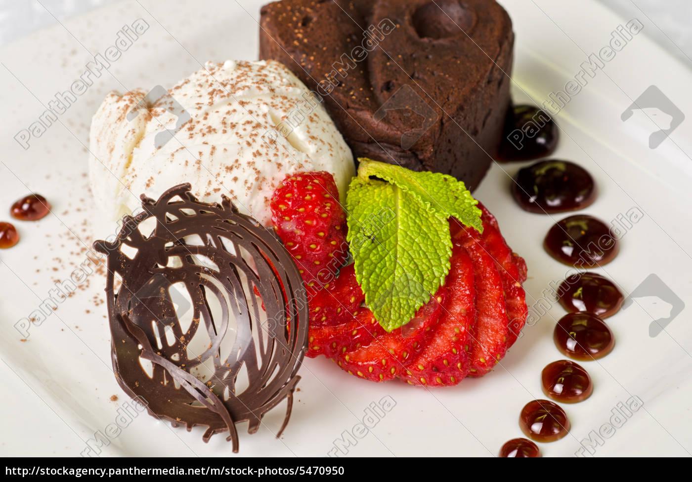 chocolate, flan - 5470950