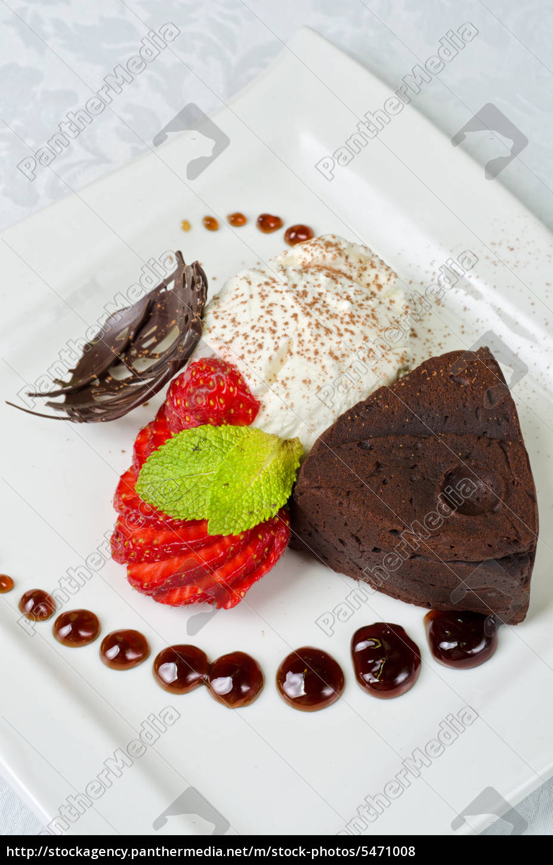 flan, al, cioccolato - 5471008
