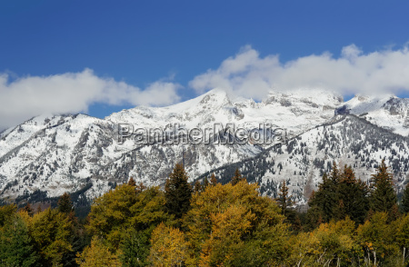 montagne parco nazionale pittoresco innevate paesaggio
