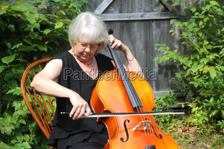 donna musica classico adulto musicista corde