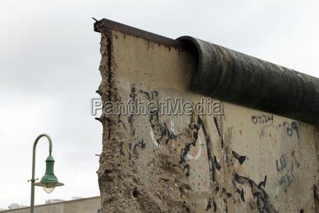 muro berlino confine breccia divisione zona