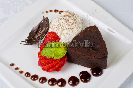 flan, al, cioccolato - 5546351