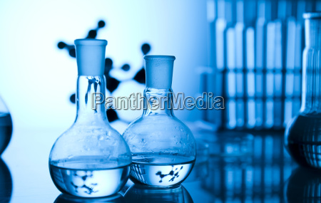 attrezzature per vetrerie da laboratorio chimico
