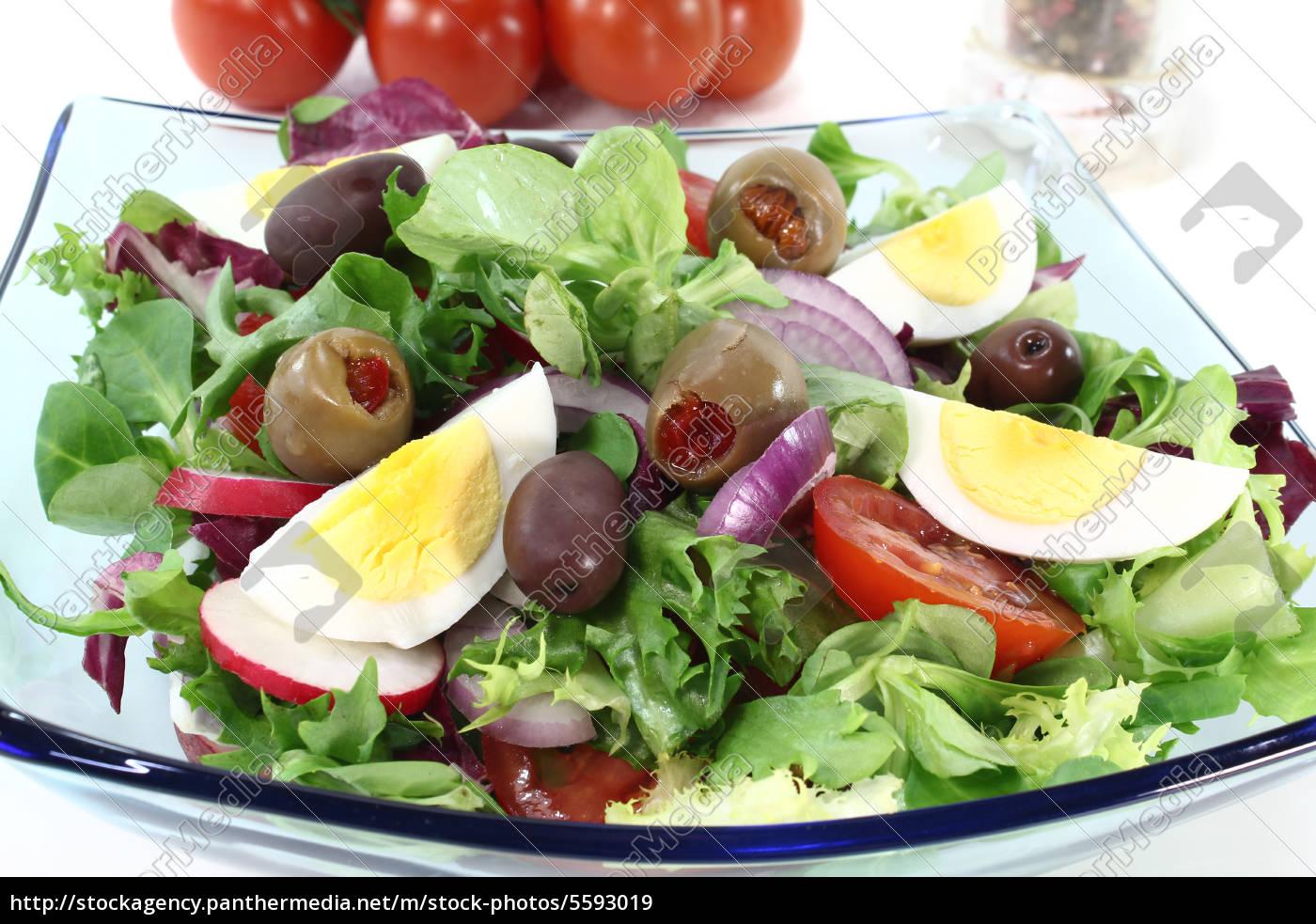 insalata, di, chef - 5593019