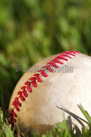 sport dello sport palla campo cuciture