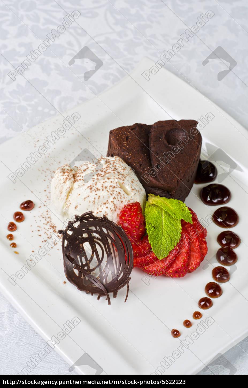 chocolate, flan - 5622223