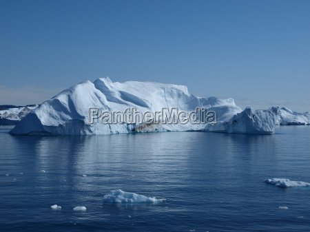 blu artico groenlandia iceberg sciolto acqua
