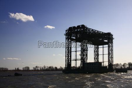 ponte di sollevamento ferroviario karnin