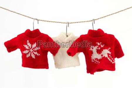inverno caucasico bianco maglione decorazione fondale