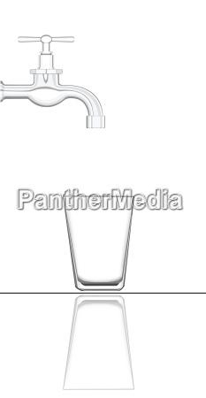 bicchiere bere liquido ambiente domestico progettazione