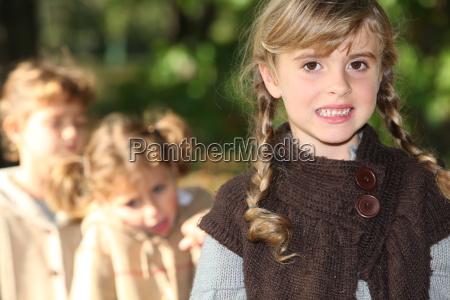 caucasico bianco autunnale infanzia contento felice