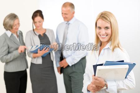 con successo di successo affare affari