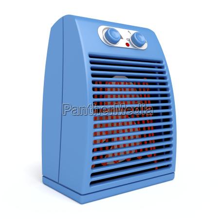 riscaldatore elettrico blu